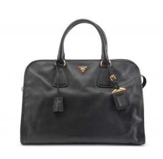 Prada Saffiano Leather Black Bag