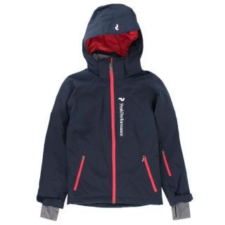 Peak Performance Girl's Navy Ski Jacket