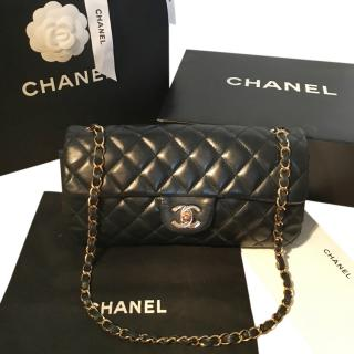 Chanel Quilted-Leather Bag