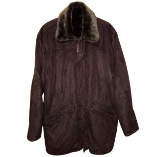 Paul R. Smith faux-shearling coat