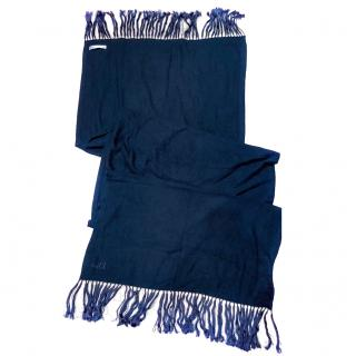 Dior fringed-edge cashmere scarf