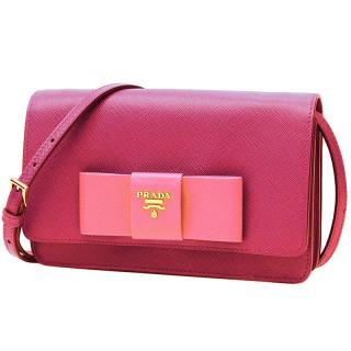 Prada Saffiano Leather Lux Cross-Body Bag