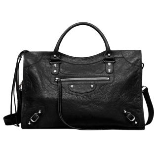 Balenciaga City leather bag