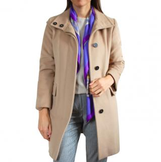 Marella Camel Wool Coat