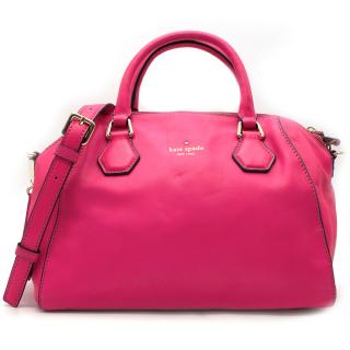 Kate Spade New York hot-pink cross-body bag