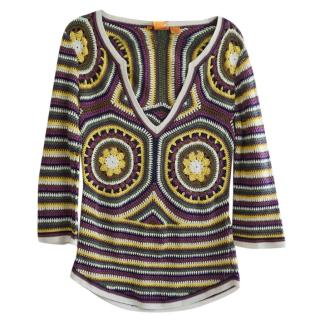 Tory Burch cotton-crochet top