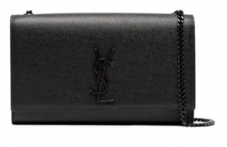 Saint Laurent So Kate medium pebble leather bag