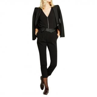 Claudie Peirlot Popup bow-waist slim-fit trousers