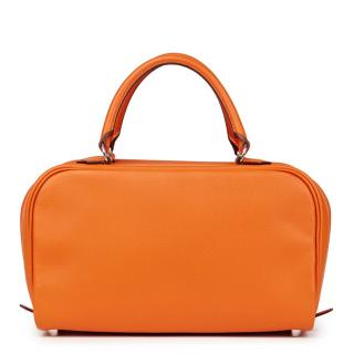 Hermes Sac Envi Orange H Epsom Leather 26cm Bag