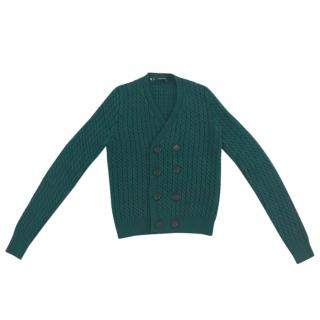 Dsquared2 double-breasted wool cardigan