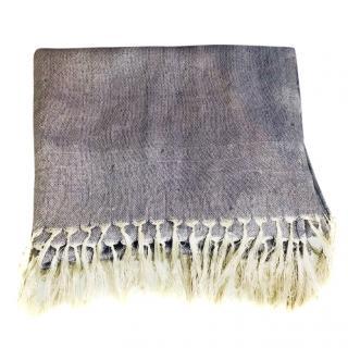 Loro Piana Silk & Linen-Blend Scarf