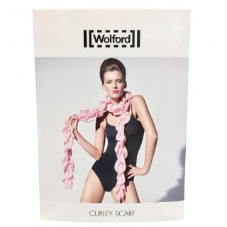 Wolford Blossom Pink Silk Chiffon Scarf