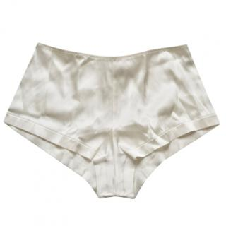 Myla high-rise stretch-silk briefs