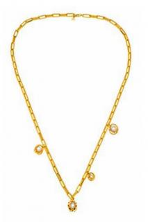 Maria Francesca Pepe Extra Long Satellite Necklace