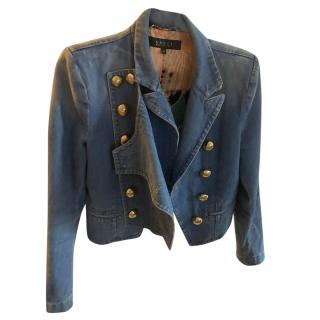 Gucci Military Denim Jacket