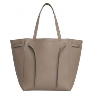Celine Phantom Grey Cabas Leather Tote