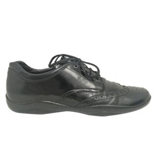 Prada lace-up leather shoes