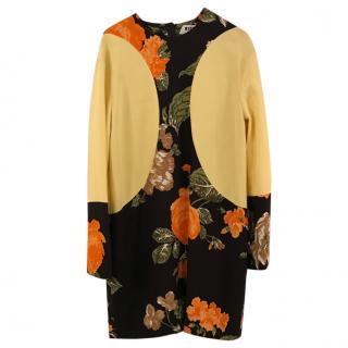 MSGM Milano block-colour dress