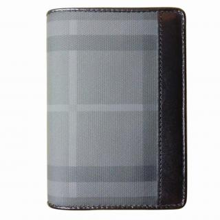 Burberry bi-fold checked wallet