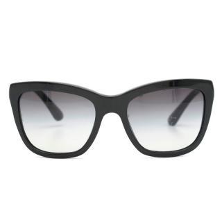 Dolce & Gabbana Black Square-Frame Sunglasses