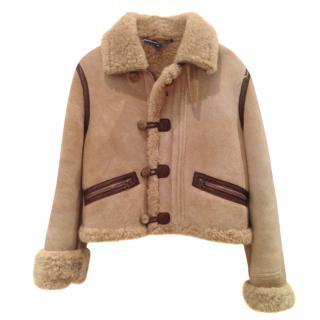 Ralph Lauren Sport shearling jacket
