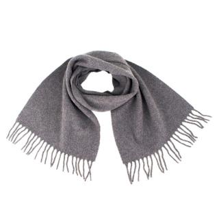 Simpson Piccadilly Grey Lambswool Scarf
