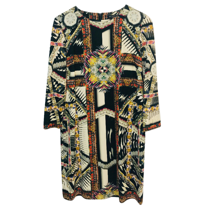 Etro abstract-print dress