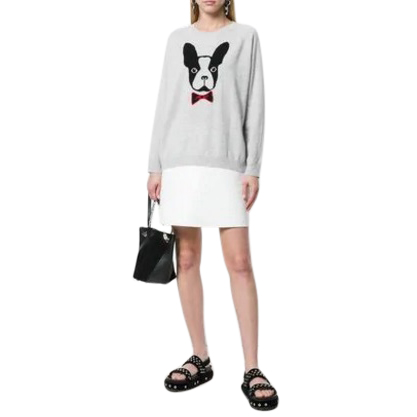 Chinti & Parker French Bulldog Sweater.