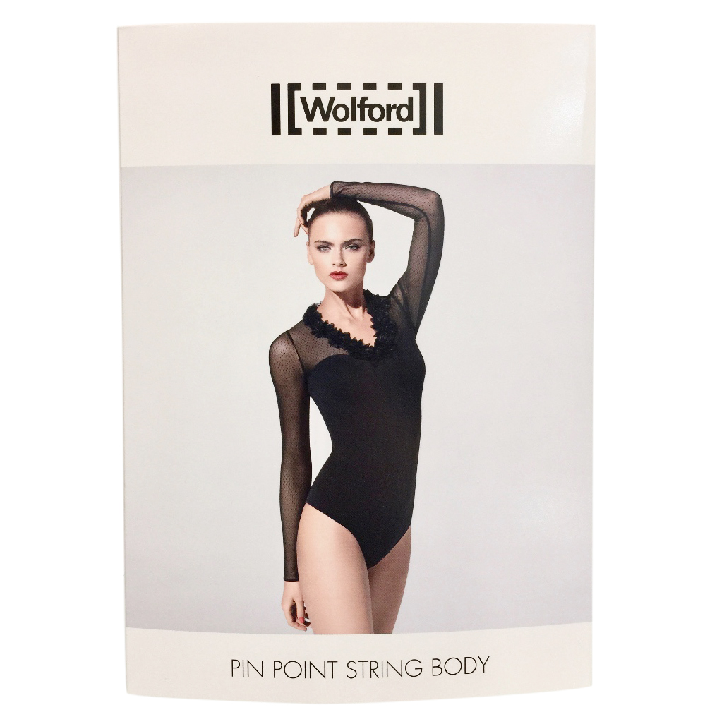 Wolford Pin Point Tulle String Body