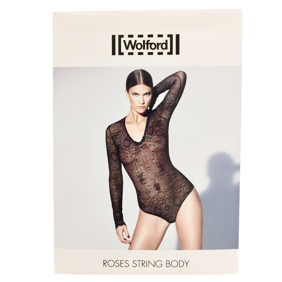 Wolford Romantic Roses Lace String Body