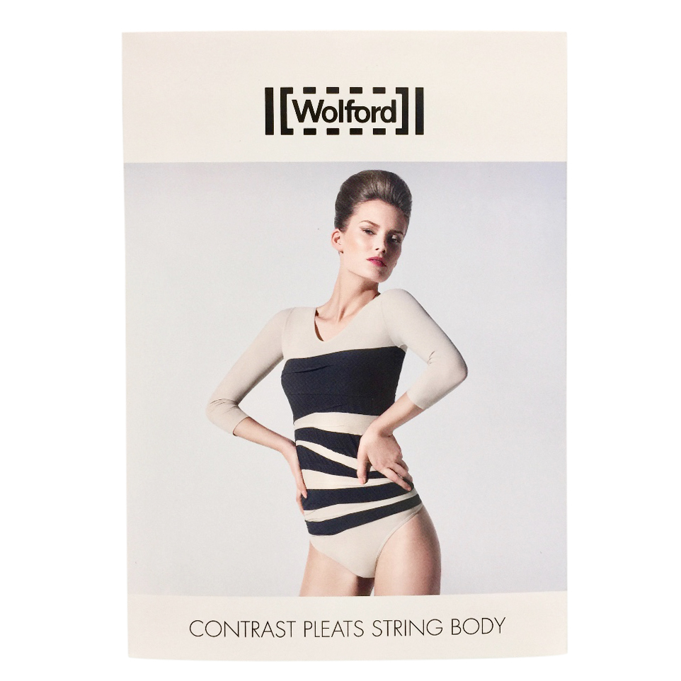 Wolford Contrast Pleats String Body