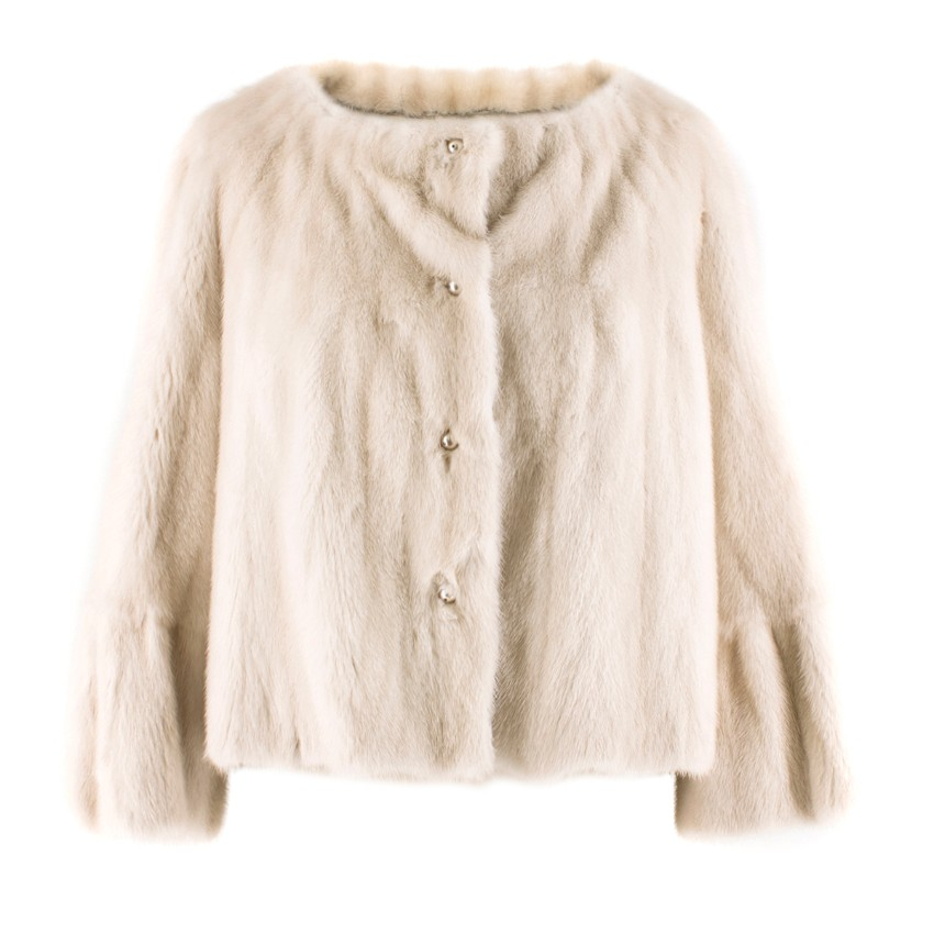 Lanvin mink fur jacket