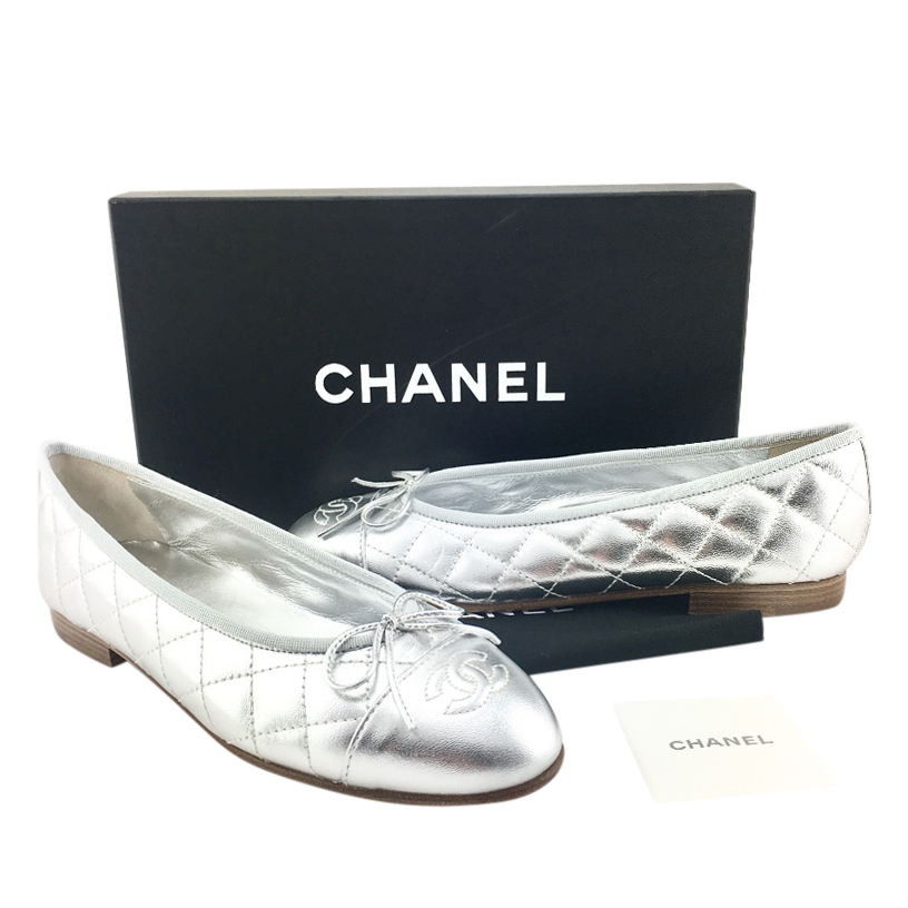 Chanel Quilted Leather Cap Toe
