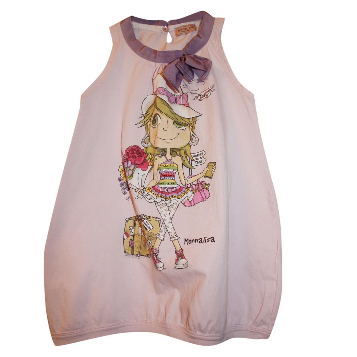 Monnalisa shopping girl tunic