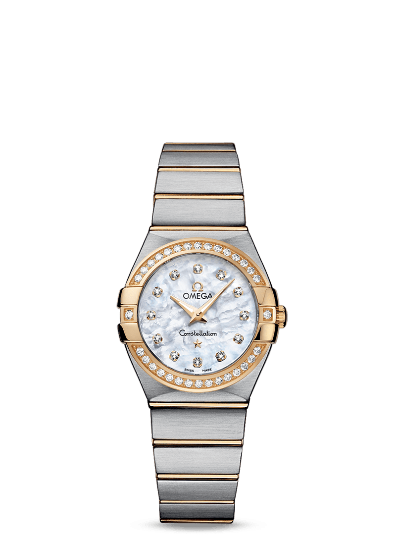 Omega Constellation 27mm Diamond Watch
