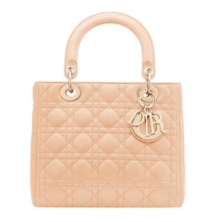Christian Dior Lady quilted-leather bag