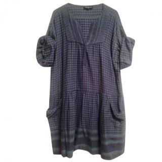 Isabel Marant Keffiyeh-Jacquard Dress