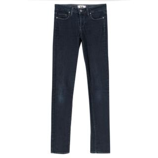 Paige Skyline dark-blue skinny denim jeans