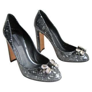 Dolce & Gabbana Rhinestone-Embellished Pumps