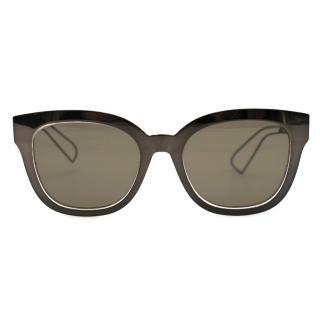 Dior Diorama monochromatic metal sunglasses