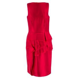 CH by Carolina Herrera duchess silk-blend satin dress