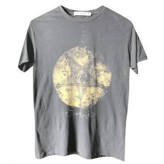 Dior 5 Swords-print T-shirt