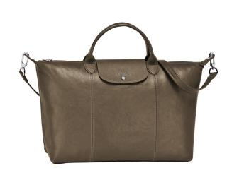 Longchamp Le pliage Cuir leather bag