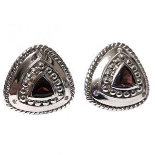 DK Bohemian Style Garnet Earrings