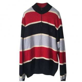 Paul & Shark half-zip colour-block sweater