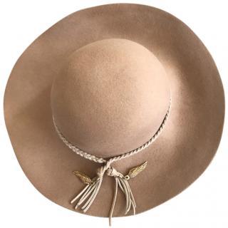 Emilio Pucci braided-trim hat