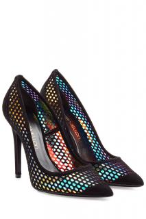 Tamara Mellon 'Miami Vice' Holographic Suede Pumps