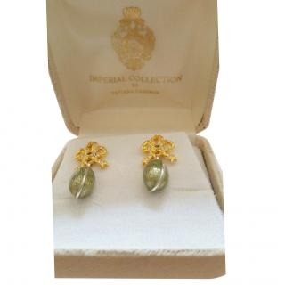 Earrings BY Tatiana Faberge Imperial Collection