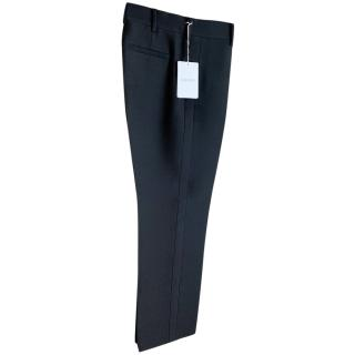 Valentino high-rise wool trousers