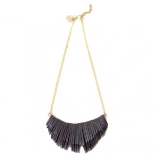 Laura Siegel x Soko Ethical Stacked Horn Necklace